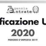 CU 2020, proroga scadenza
