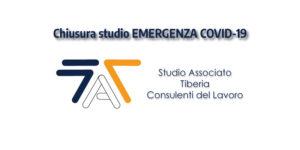 Read more about the article Chiusura studio EMERGENZA COVID-19