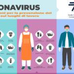 COVID-19 disposizioni per la prevenzione del contagio sui luoghi di lavoro