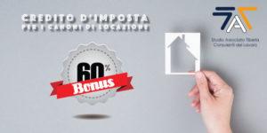 Read more about the article Credito d'imposta per i canoni di locazione
